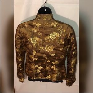 4cc3177b6 H&M Golden Flower Embroidered Jacket